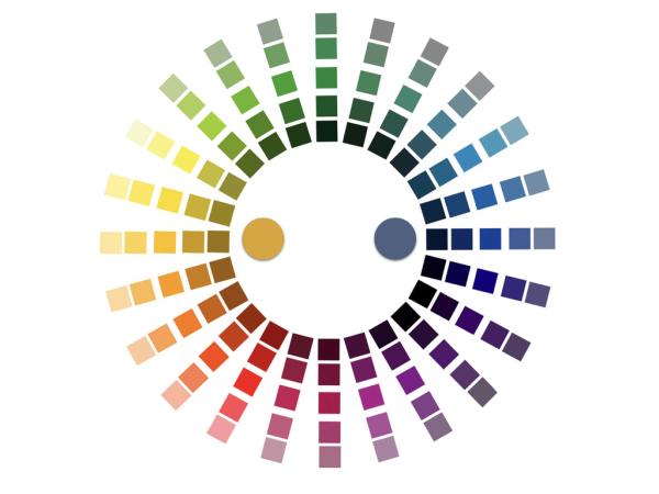 色彩课 互补色对比搭配实操 撞色科普文