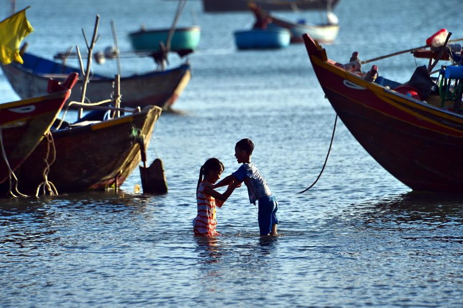 越南美奈:风情渔村最美的夕阳海湾 - TIM生命过客 - TIM生命过客的博客