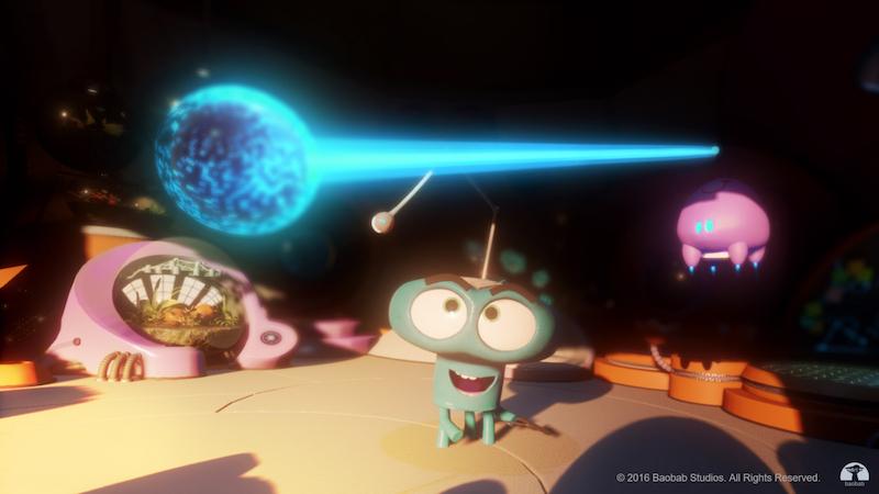 《Asteroid!》:在这部 VR 短片中,观众的情感会推动故事发展