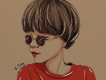 短发女生精选,美如此简单!显可爱年轻的发型图片