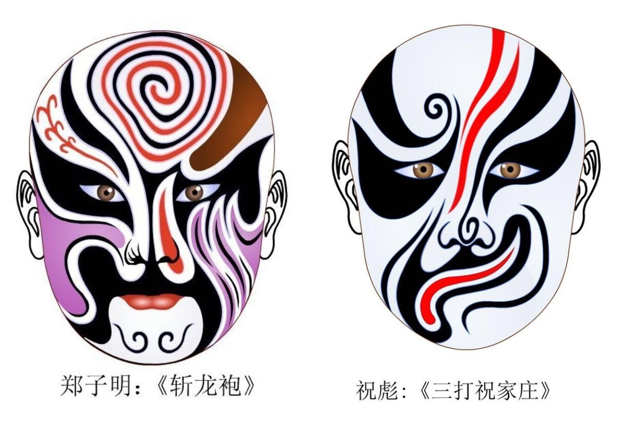 西湖小语|京剧的脸谱:浓墨重彩中的戏里千秋!图片