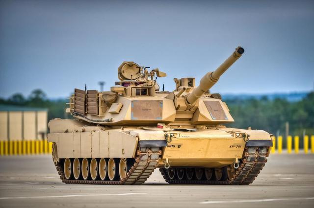 美国最强主战坦克——M1A3