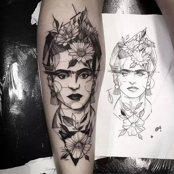 刺青却选不定图案?国外男女流行「名画艺术纹身」绝对