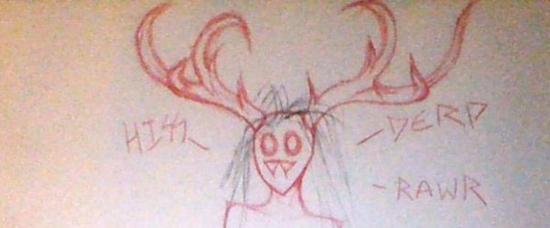 精神分裂 17岁女孩画幻觉竟出现这些