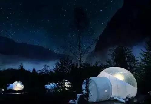 """99%的人想""""滚""""的气泡酒店,悬崖木屋,山间树屋图片"""