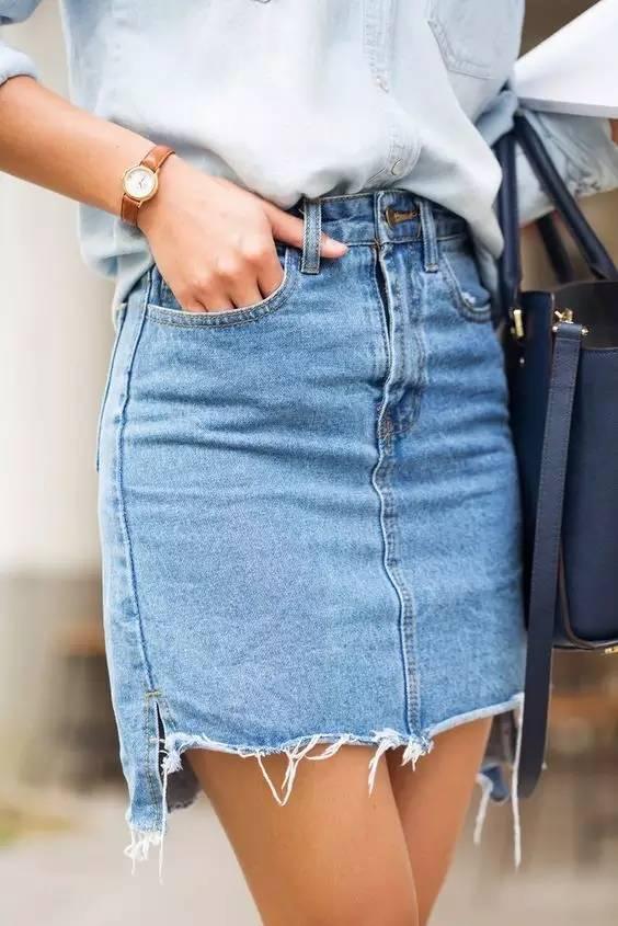 高腰裤和短裙绝对是