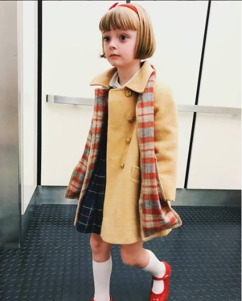 生个女儿一定要这样穿,让她从小美到大!