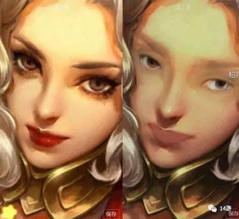 王者荣耀女英雄卸妆照辣眼睛 最美素颜女神竟是她