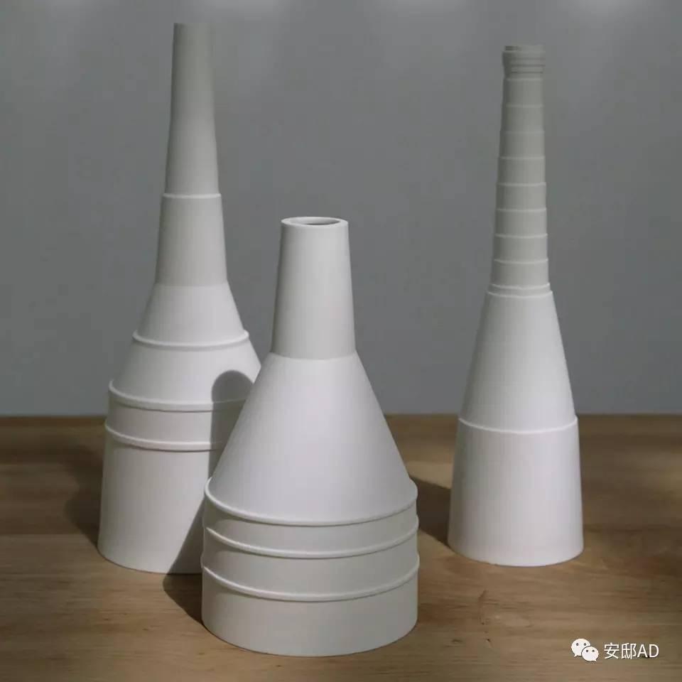 折纸结构使陶瓷更稳固,起伏的表面利于散热,减少了与皮肤的接触面积