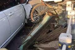 温州三车追尾惨案!车辆严重变形,车上的人…