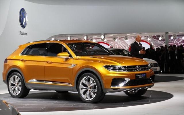 一汽大众首款SUV或年底发布,紧凑型锁定年轻买家高清图片