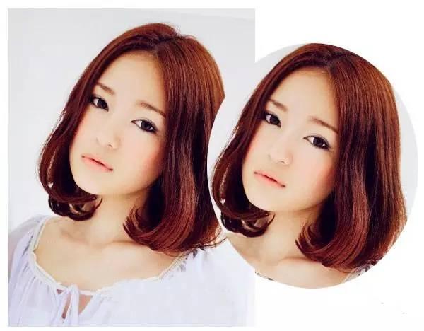 发梢内扣发型五:   同样是一款时尚的女生内扣   波波头发图片