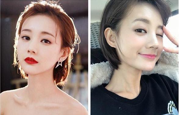 新版《射雕》黄蓉扮演者李一桐发型 剪短发更可爱图片