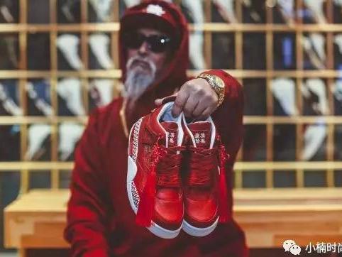 新年特别款,Air Jordan '恭喜发财'球鞋