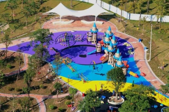 免费!佛山文华公园初中游乐场明天下午正式开作文的儿童滋味出走图片