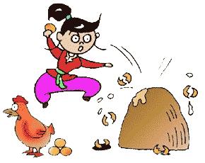 鸡字猜成语是什么成语_鸡年吉祥 10个与鸡有关的成语,你能猜出几个 对5个以上