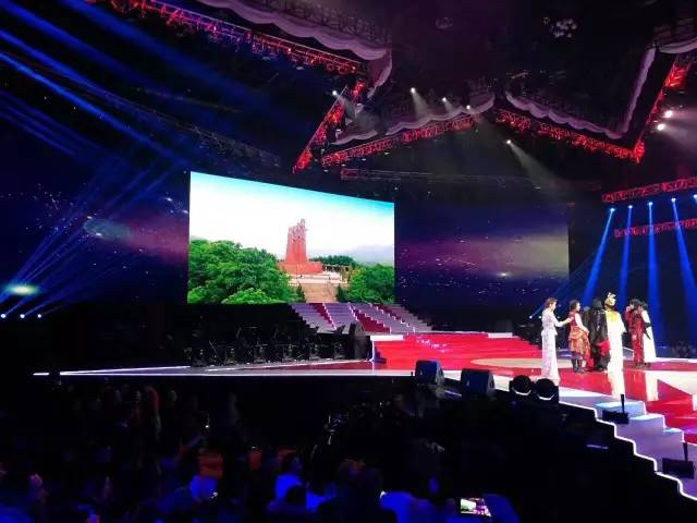 贵州闪耀《星光大道》年度总决赛图片