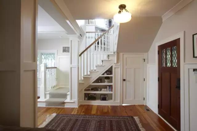 实用楼梯收纳设计,干净整洁好过年!