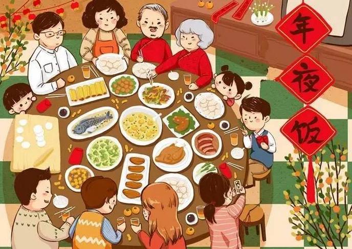 绘本馆 绘本教授 春节的完整习俗,讲给孩子们听