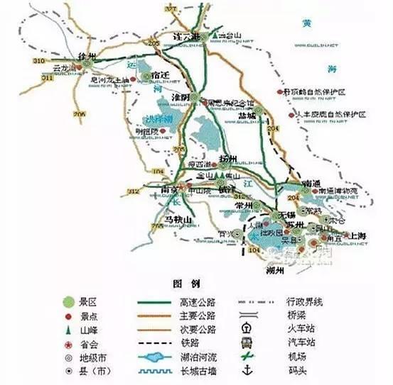 【中国各省旅游简图,想好新年第一场旅行去哪了吗?】 - 58分类网