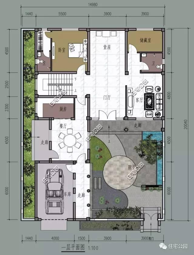 住宅公园,450款农村自建房图纸,建筑师别墅作品展示,农村施工队案例