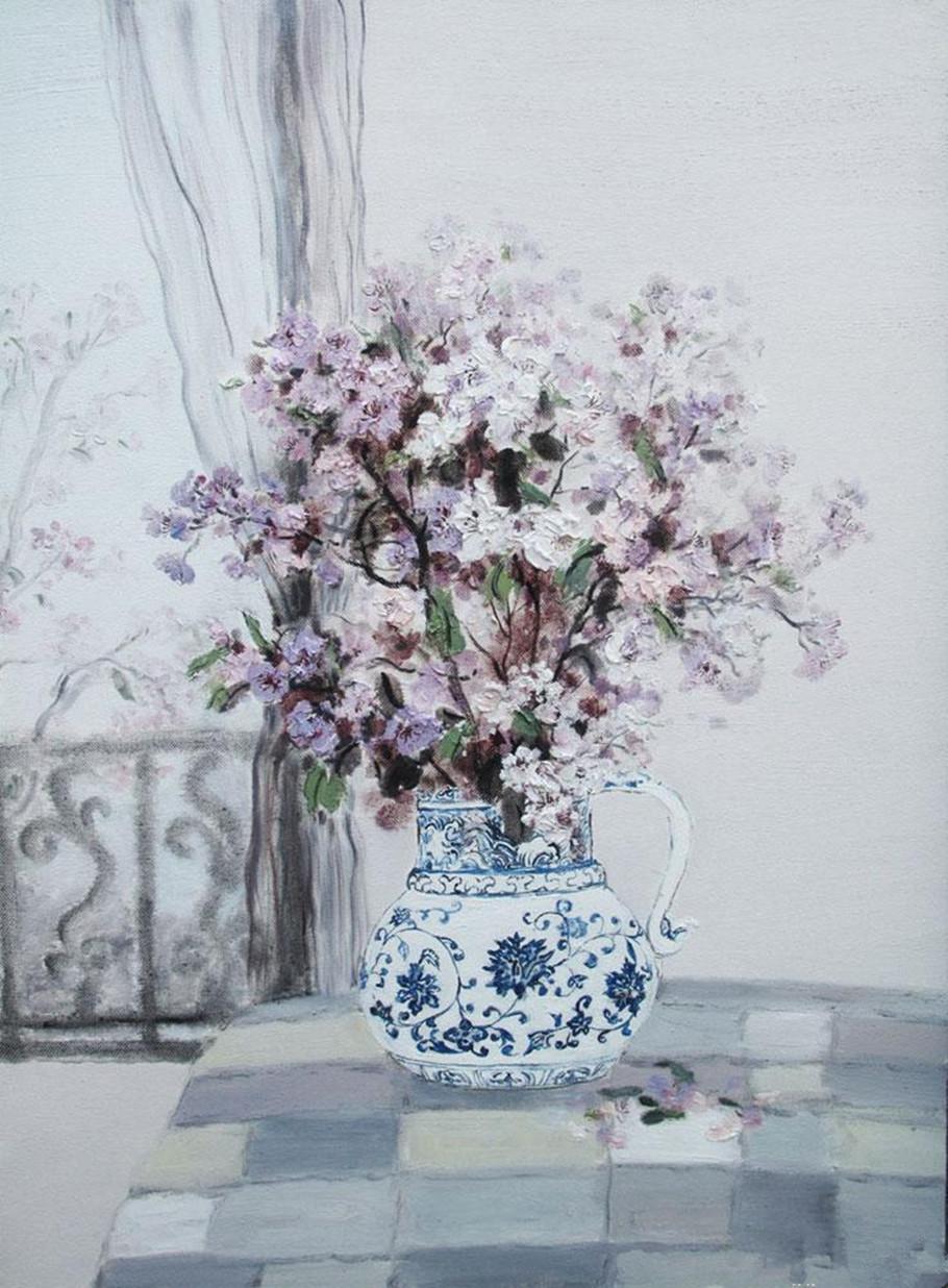 女画家木西作品欣赏!