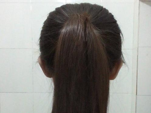 长头发怎么扎好看,怎样扎简单的丸子头图片