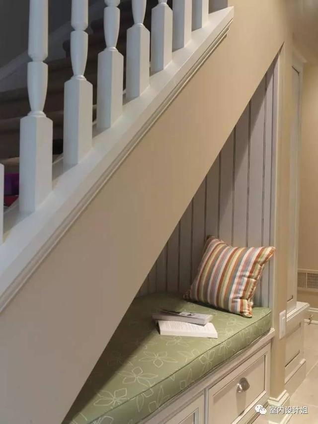 楼梯底下做收纳空间,看得我好想买一套带楼梯的房