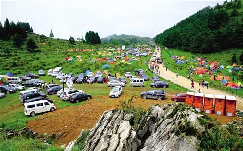 2015年,石柱县旅游产业围绕打造全国优秀民俗生态休闲旅游目的地的