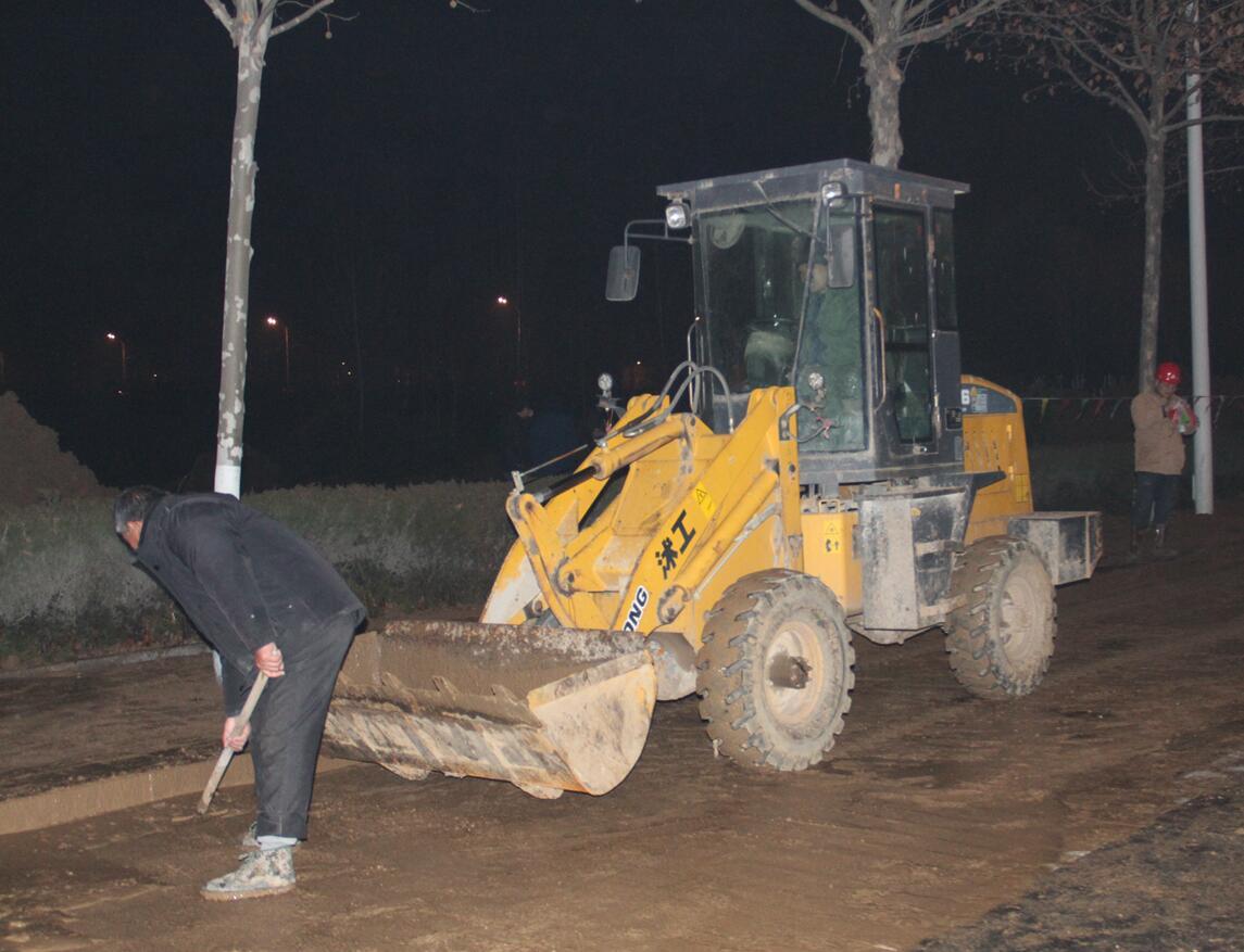 临沂城区供水主管道突发爆管将大面积停水
