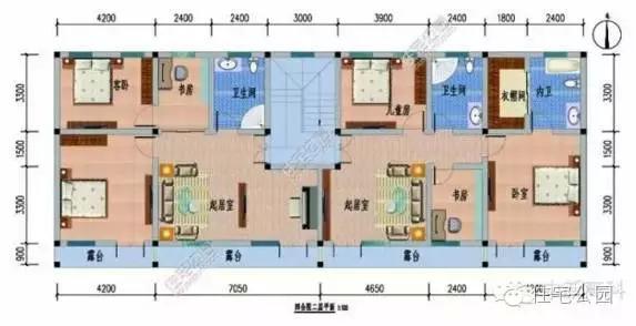 8套新农村自建房设计图纸,你还想在城市买房吗?图片