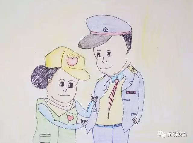 【寄给春天的明信片】职工子女手绘明信片作品展(一)