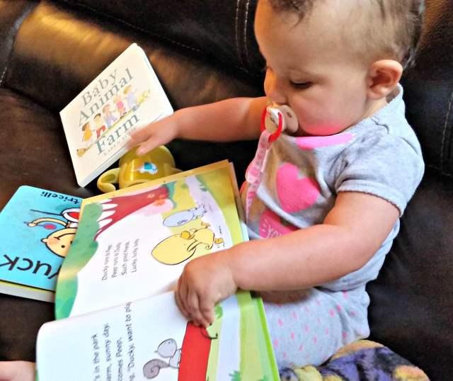 绘本如何引发婴儿阅读行为和技能发展