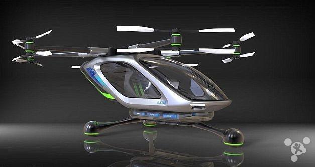 喷气飞行背包公司打造飞行汽车可停进普通车库