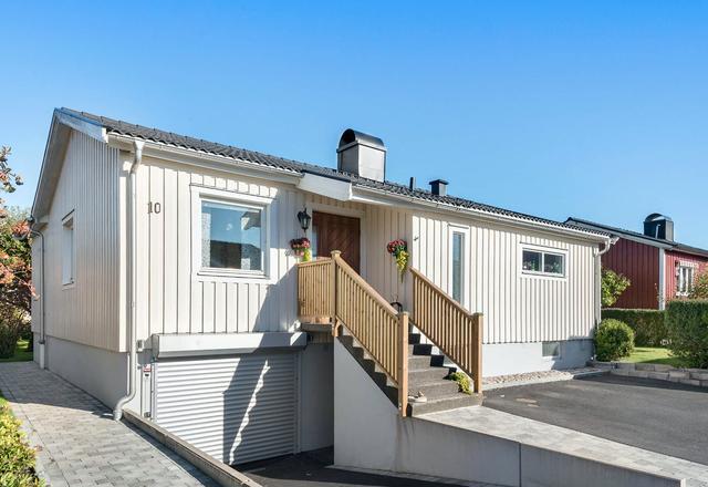 农村养老小平房,就该这个样,车库庭院方案太棒了图片