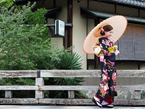 只有大逆不道的新人才敢选择去日本京都拍婚纱照