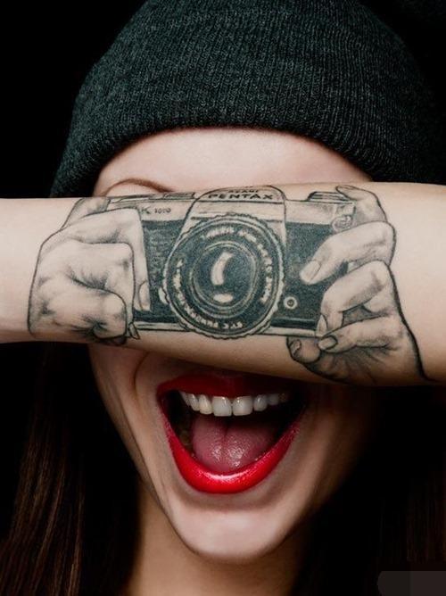 (图)想不开的奇葩纹身