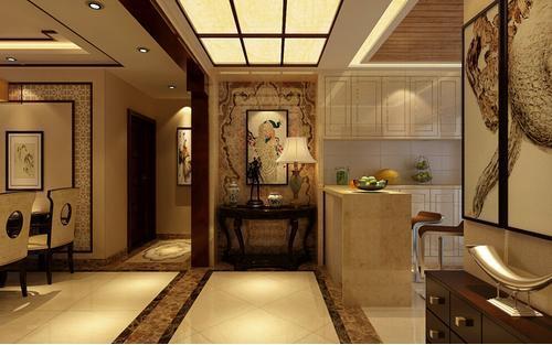 走廊风格的新中式设计,优雅精致万人迷!图片