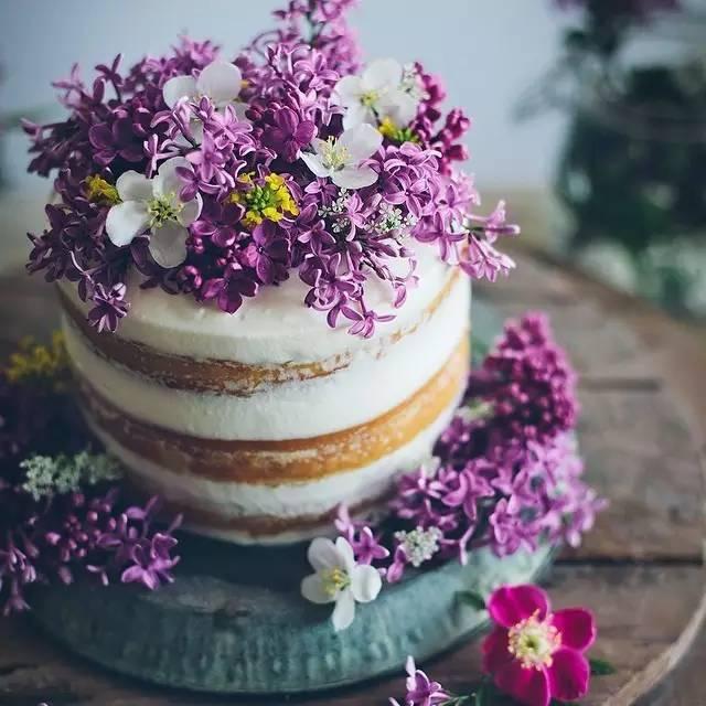 烘焙圈子:真的匠心~貌美如花的蛋糕盛开在最静谧的花园里!