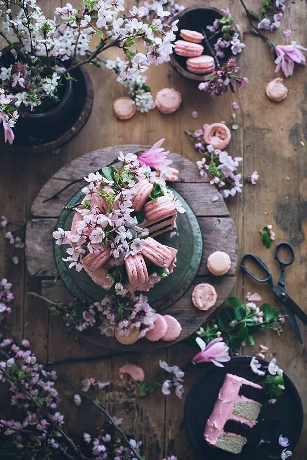 烘焙圈子:真的匠心~貌美如花的蛋糕怒放在最静谧的花圃里!