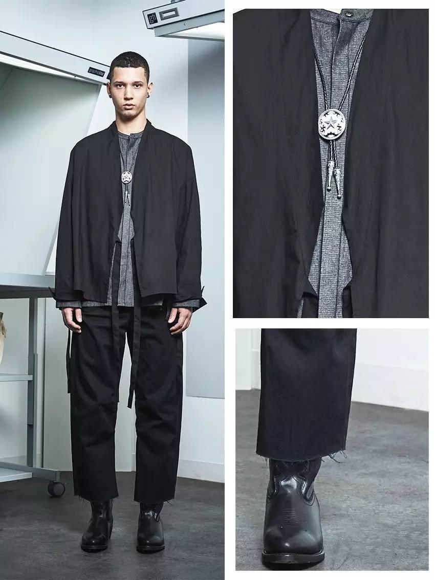 潮男服装设计手绘