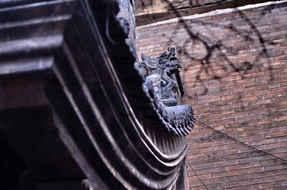 平遥古城,弥漫着煤味醋香,随处可见建筑之美 - TIM生命过客 - TIM生命过客的博客