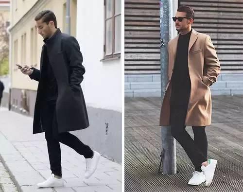 潮男|开春白运动鞋3种搭配方式图片