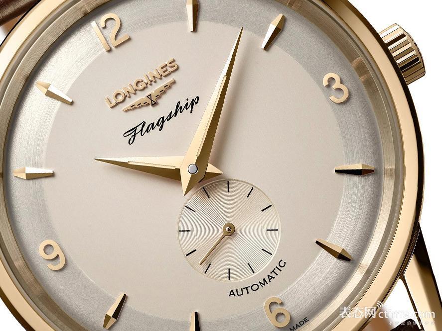 浪琴表推出军旗系列60周年限量复刻腕表