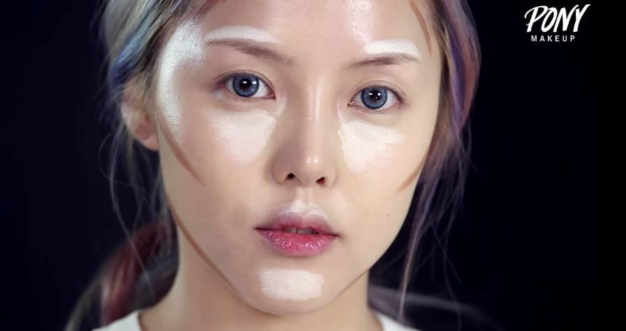 韩国日本女生是怎么化妆的?