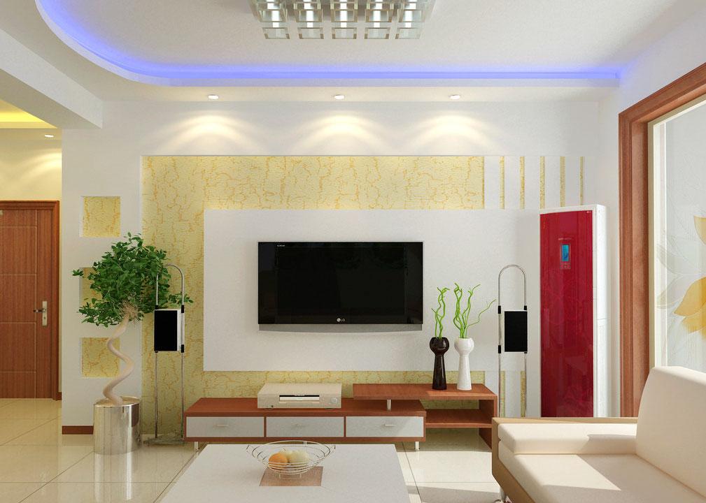客厅电视背景墙设计要点 效果图图片