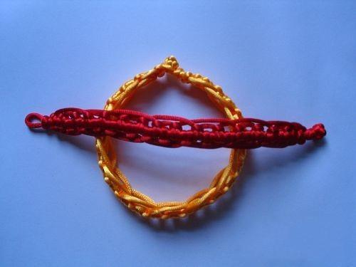 最全最简单的各种手链编织方法