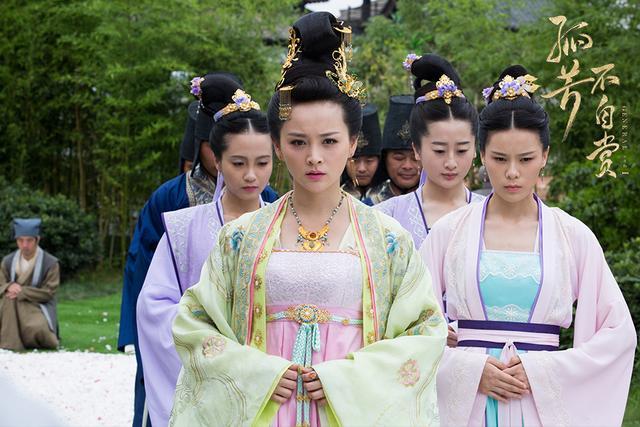 2017电视剧十大古装美女,白浅(杨幂饰)排第二?