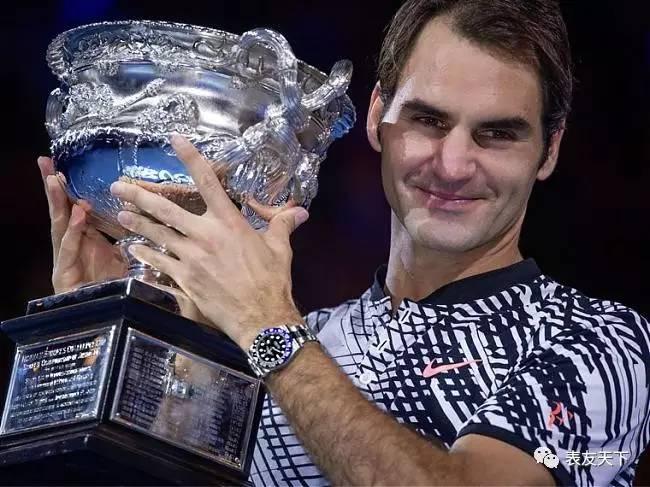 劳力士恭贺代言人罗杰?费德勒夺得第18项大满贯 (Grand Slam?) 锦标