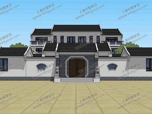 2016最新10x12米农村自建平房设计图自家宅基地为长方形宽9.图片
